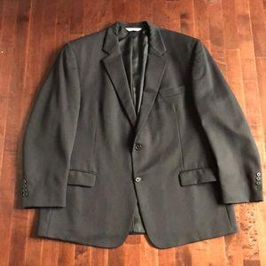 Moore's Pronto Uomo Suit Jacket Black 100% Wool